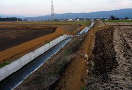 経営体育成基盤整備 高根西部山之尻地区 区画整理5工事