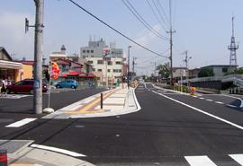 社会資本整備総合交付金事業 市道4242号線道路改良工事