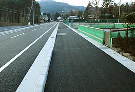 社会資本整備総合交付金事業 市道0114号線道路改良工事