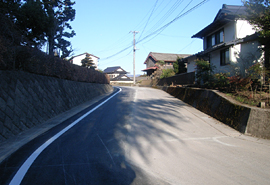 平成23年度障害防止(施設補修)東富士下和田上流導水路6工事