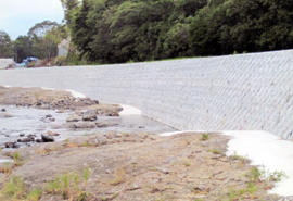 H23年度 第23-K3312-01号 一級河川黄瀬川緊急総合治水対策事業(河川)工事(護岸工)