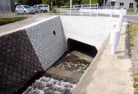 H23年度 第23-K6004-01号二級河川つつじ川東富士演習場周辺障害防止対策(用水対策)工事(函渠工、護岸工)