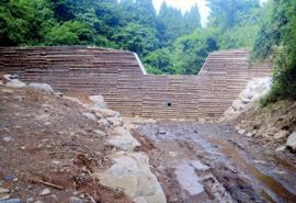 平成23年度 治山(復旧)境の尾工事