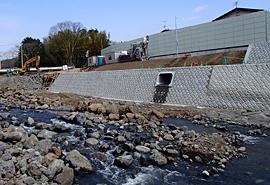 平成24年度(第23-K3312-01号)一級河川黄瀬川緊急綜合治水対策事業(河川)工事(護岸工)
