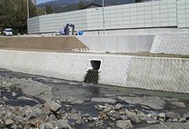 平成24年度 一級河川黄瀬川緊急統合治水対策事業(河川)工事(護岸工)