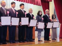 2012.11.2 御殿場かがやき土地改良区様より感謝状を贈呈されました