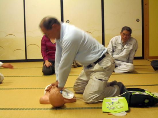 AED・心肺蘇生講座